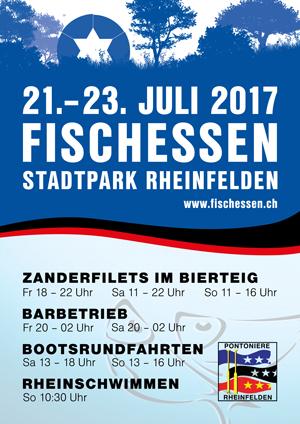 Plakat Fischessen 2017